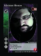 Kleiton Renzo - Custom Card