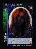 Julie Jacqueminot - Custom Card