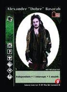 "Alexander ""dobre"" Basarab - Custom Card"