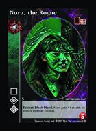 Nora, The Rogue - Custom Card