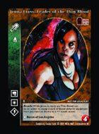 Jenna Cross, Leader Of The Thin-blood - Custom Card