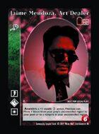 Jaime Mendoza, Art Dealer - Custom Card