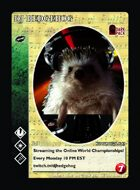 Dj Hedgehog - Custom Card