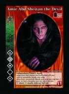 Amir Abd Sheitan The Devil - Custom Card