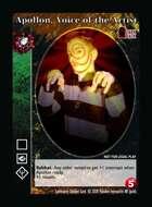 Apollon, Voice Of The Artist - Custom Card