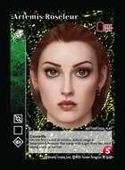 Artemis Roseleur - Custom Card