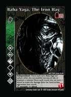 Baba Yaga, The Iron Hag - Custom Card