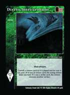 Direct Intervention - Custom Card