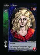 Alexis Bass - Custom Card