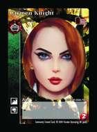 Carmen Knight - Custom Card