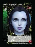 Alicia Delphiania - Custom Card