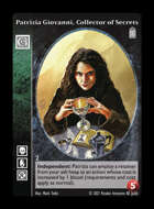 Crypt - Patrizia Giovanni, Collector of Secrets - Giovanni