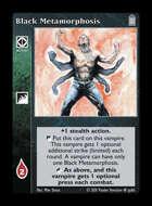 Library - Black Metamorphosis - Action