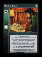 Library - Divine Sign - Action