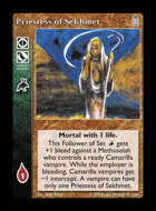 Library - Priestess of Sekhmet - Retainer
