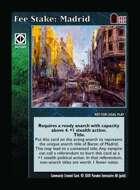 Fee Stake: Madrid - Custom Card