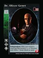 Dr. Oliver Genet - Custom Card