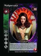 Malgorzata - Custom Card