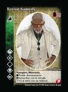 Barón Samedi  - Custom Card