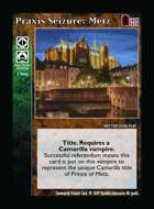 Praxis Seizure: Metz - Custom Card