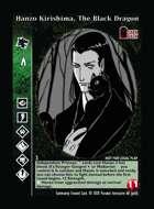 Hanzo Kirishima, The Black Dragon - Custom Card