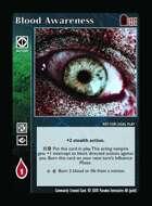 Blood Awareness - Custom Card