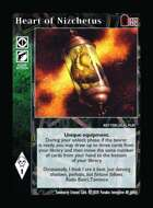 Heart Of Nizchetus - Custom Card