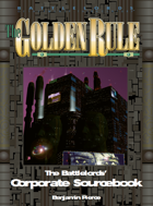 Battlelords - The Golden Rule (6th Edition)