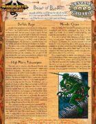 Warbeasts & Wyrms - One Sheet - Beast of Burden