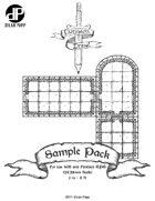 Dungeon Drawl Sample Pack