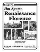 GURPS Hot Spots: Renaissance Florence