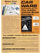 Car Wars Expansion Set 6 - The AADA Vehicle Guide Counters
