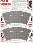 Car Wars Deluxe Road Sections Set 1: Starter Set