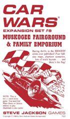 Car Wars Expansion Set 9 - Muskogee Fairground & Family Emporium