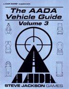 The AADA Vehicle Guide Volume 3