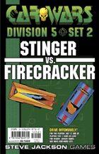 Car Wars Division 5 Set 2 - Stinger vs. Firecracker