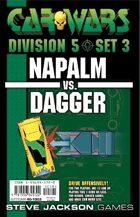 Car Wars Division 5 Set 3 - Napalm vs. Dagger