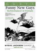 GURPS Classic: Technomancer: Funny New Guys