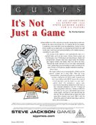 GURPS Classic: IOU: It's Not Just a Game