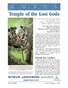 GURPS Classic: Temple of the Lost Gods