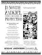 In Nomine Superiors: Zadkiel