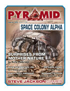 Pyramid #3/006: Space Colony Alpha