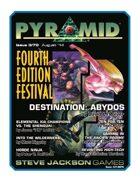 Pyramid #3/070: Fourth Edition Festival