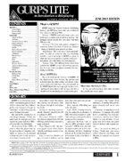 GURPS Lite (Third Edition)