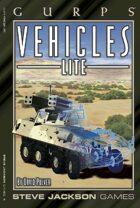 GURPS Classic: Vehicles Lite