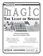 GURPS Magic: The Least of Spells