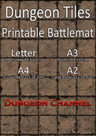 Dungeon Tiles - Printable Battlemat