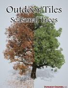 Outdoor Tiles: Seasonal Trees