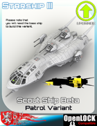 Scout Ship Beta Patrol Variant