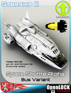 Space Shuttle Alpha Bus Variant